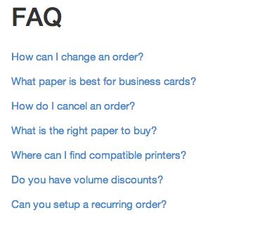 Guides FAQ